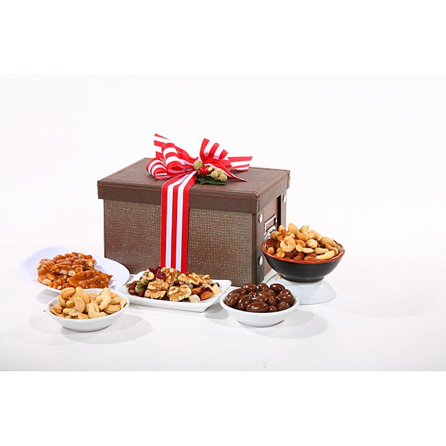 Deluxe Gourmet Chocolate & Nut Sampler - Thumbnail 0