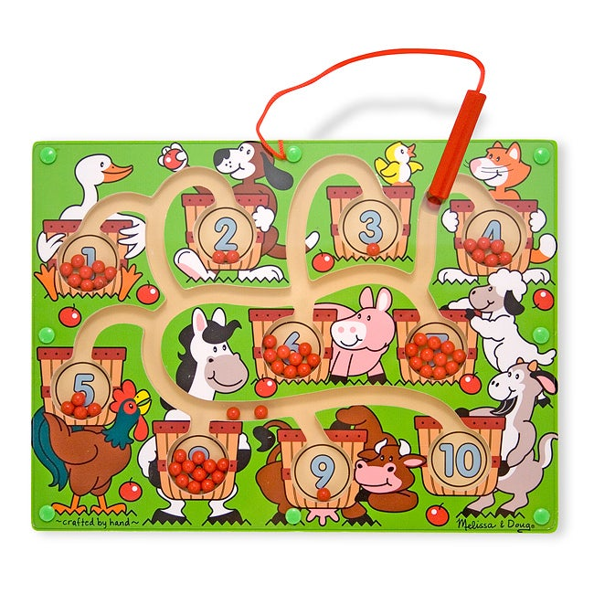 Melissa & Doug Magnetic Number Maze - Thumbnail 0