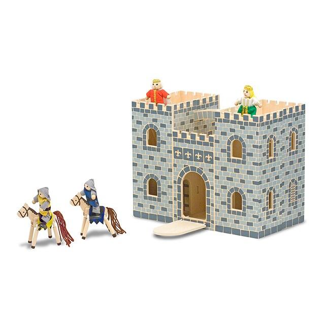 Melissa & Doug Fold and Go Castle Play Set