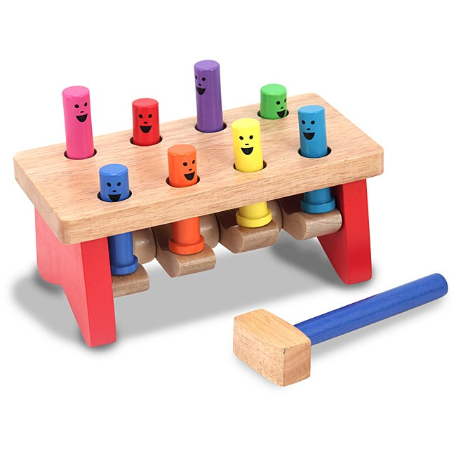Melissa and Doug Deluxe Pounding Bench Activity Set