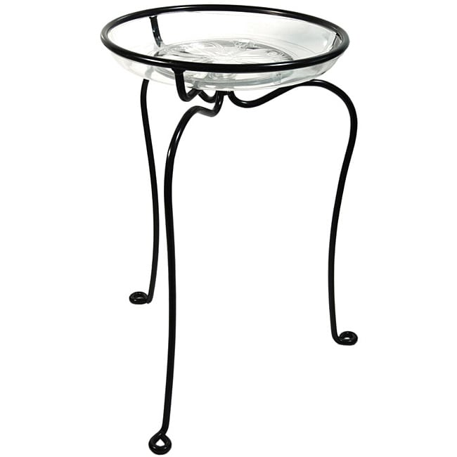 """'The Decorator' Plant Stand, Black (21"""" Inches)"""