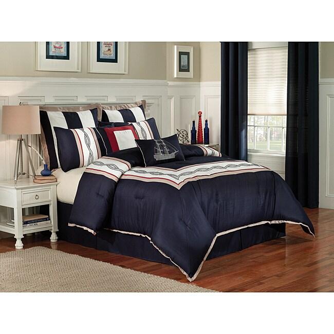 Regatta 8 Piece King Size Comforter Set Free Shipping Today