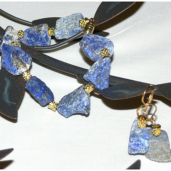 Susen Foster Designs 'Lapis Lullaby' Jewelry Set