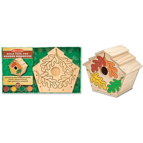 Melissa & Doug Build-Your-Own Wooden Birdhouse