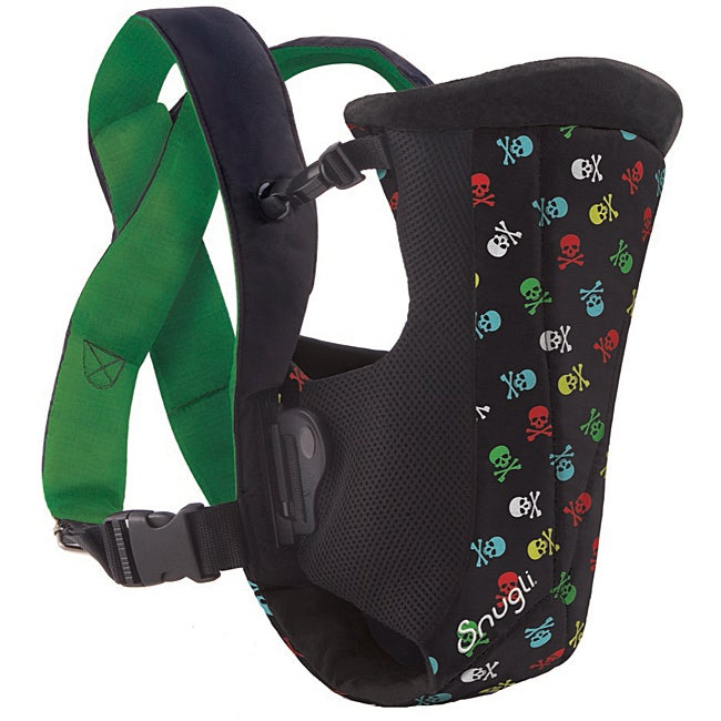 4b31f64f1ab Shop Evenflo Snugli Vented Soft Carrier in Mini Skull - Free Shipping On  Orders Over  45 - Overstock - 6378077