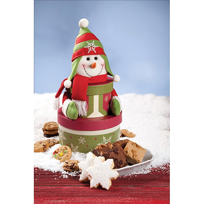 Mrs. Fields Flurry Snowman Bundle Medley Cookie Assortment