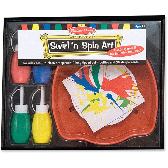 Melissa & Doug Swirl 'n Spin Art Set