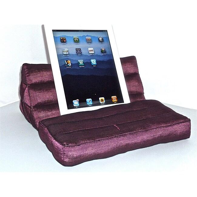 Berry Thai Silk Pillow for iPad, Kindle, Books