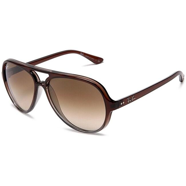 Ray-Ban Brown/Grey Transparent Sunglasses