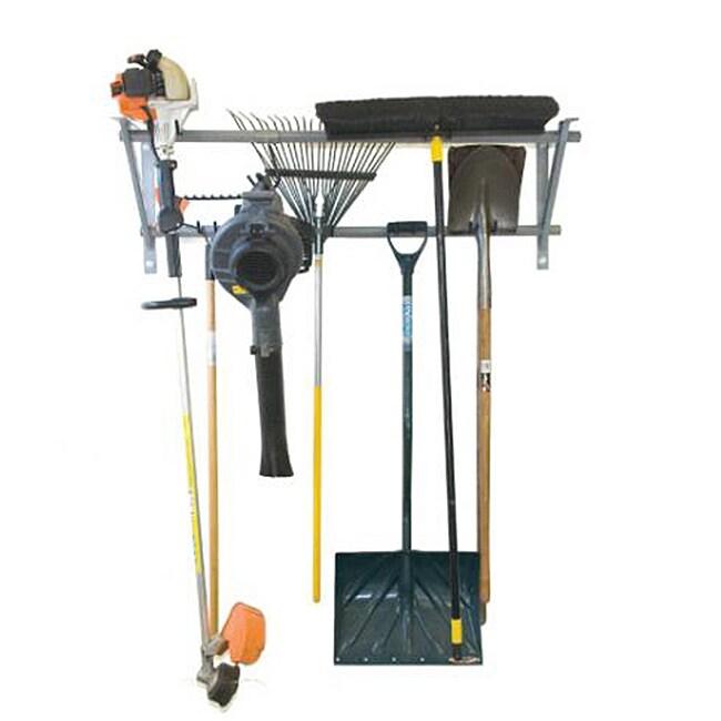 Small Patio Yard Gradening Tool Storage Rack