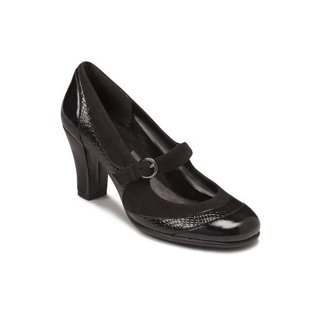 A2 by Aerosoles Women's Black Dress Pump Shoes