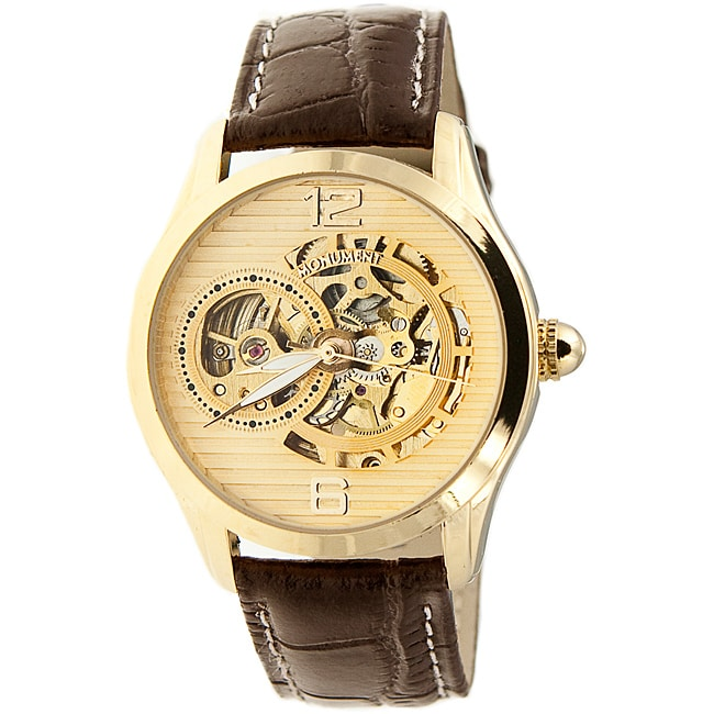 Monument Men's Skeletonized Automatic Watch