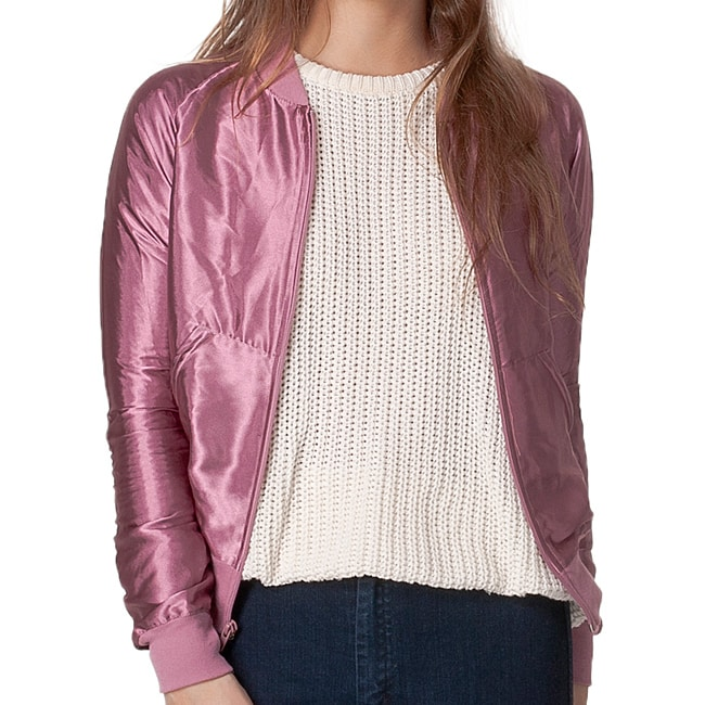 American Apparel Unisex Rose Satin Charmeuse Night Jacket