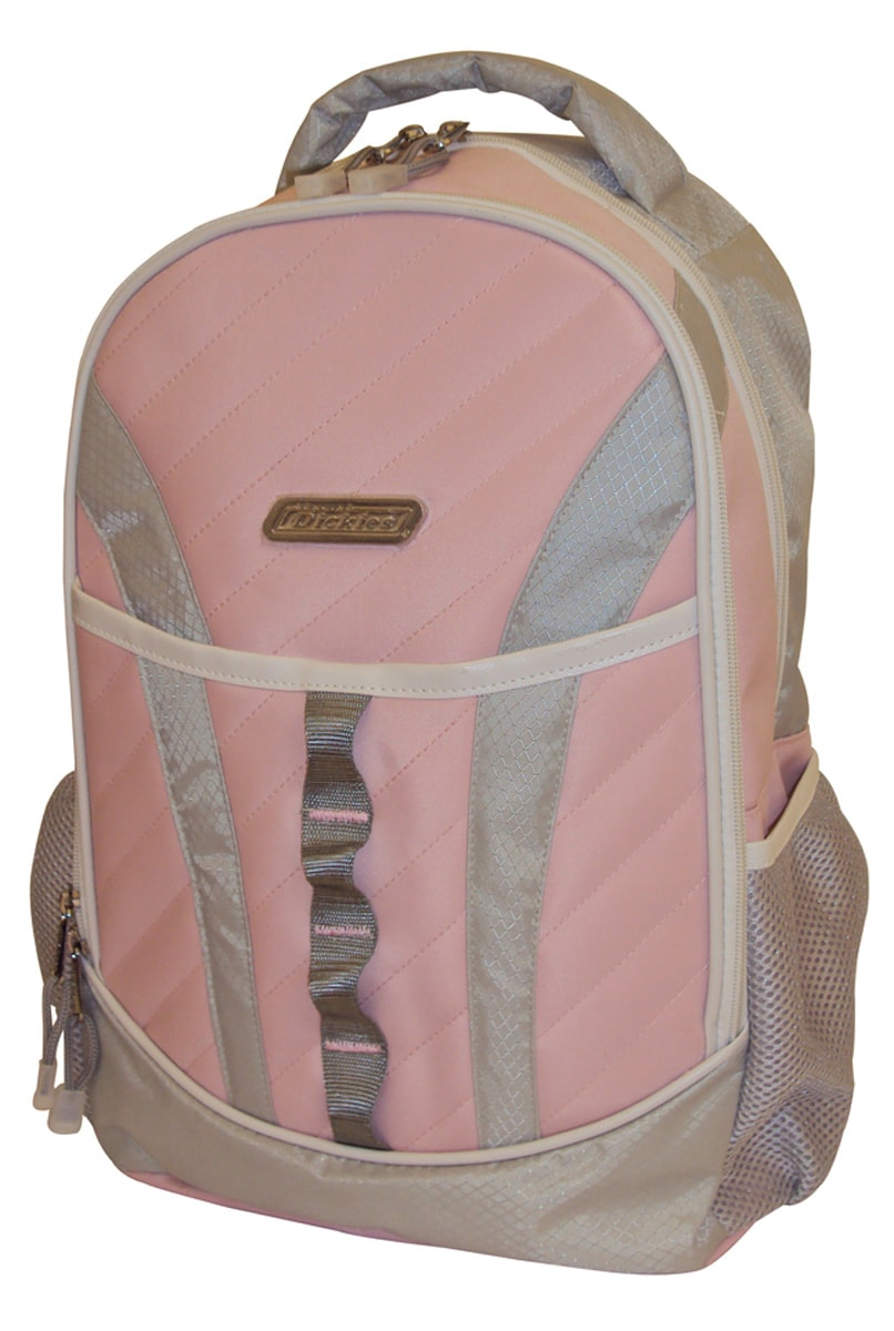 Dickies 'Blaze' Pink Quilted Backpack