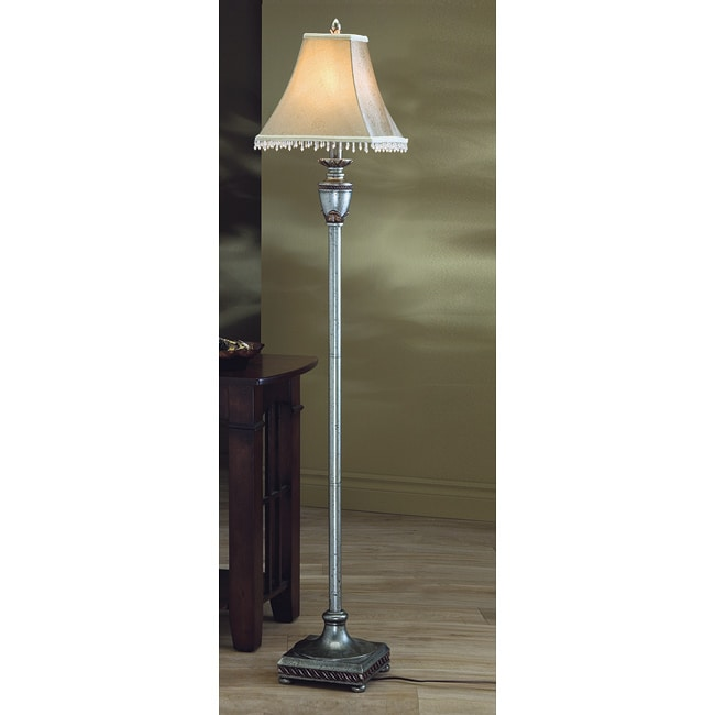 Antique Gold Traditional Floor Lamp