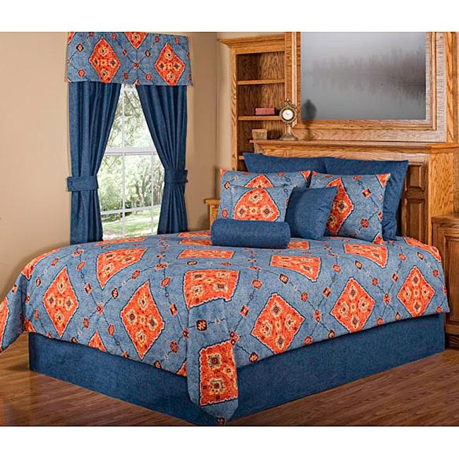 Tucson Southwestern California King-size 4-piece Comforter Set