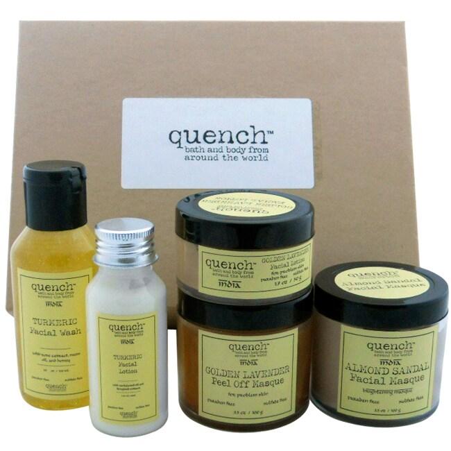 Quench India Facial Care Gift Set (India)