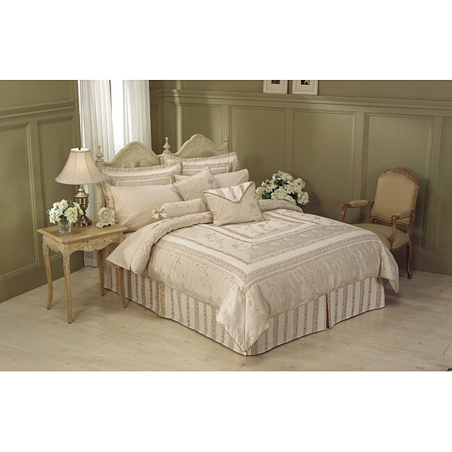 Athena Champagne 11-piece Bed in a Bag with Sheet Set