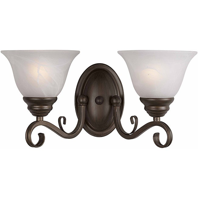 Monte Carlo 2-Light Harvest Bronze Wall Sconce
