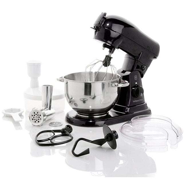 Wolfgang Puck Commercially Rated 700-Watt Stand Mixer with Food Grinder Attachment (Refurbished) - Thumbnail 0