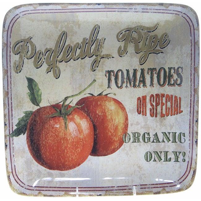 Certified International 'Farm Fresh' Square Platter