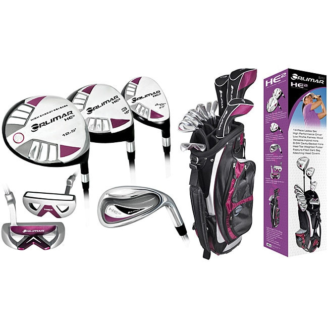 Orlimar Ladies HE2 Right-handed Combo Golf Set