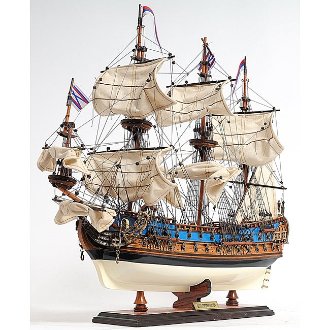 Old Modern Handicrafts Goto Predestination Painted Tall Ship