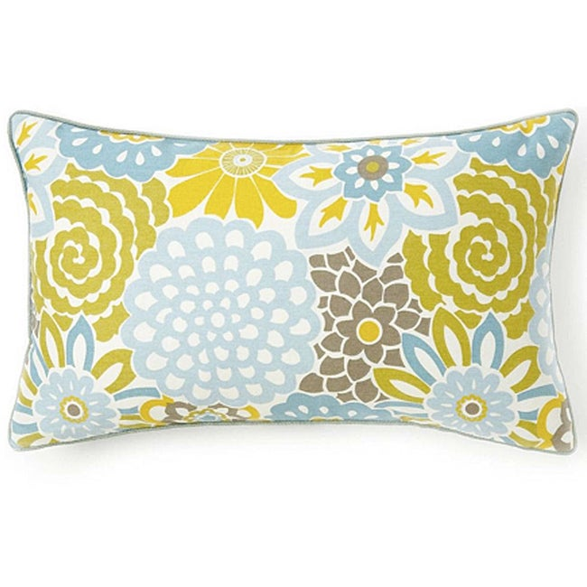 Bloom Sky Cotton Decorative Pillow