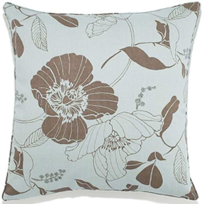 Poppy Spa Outdoor Pillow
