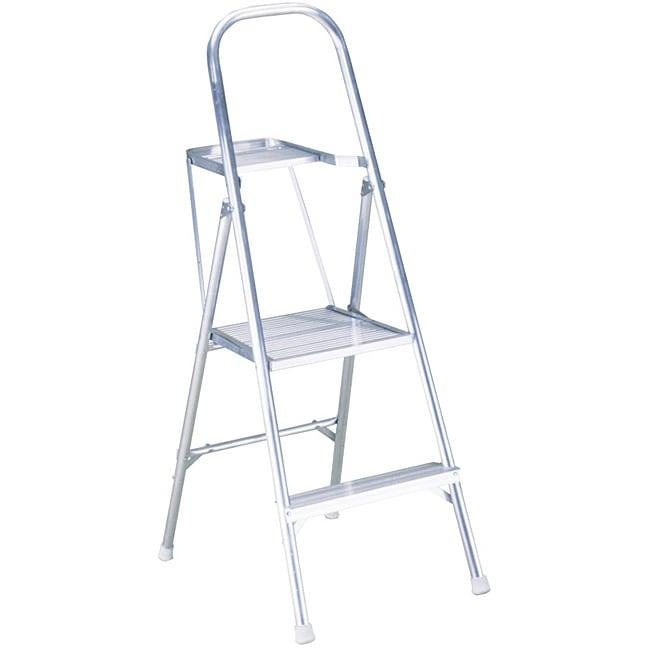 Shop Werner 48 Inch Aluminum Platform Ladder Free
