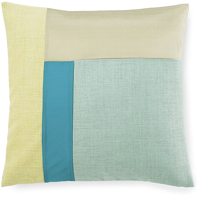 Montana Aqua 20x20-inch Poly Decorative Pillow