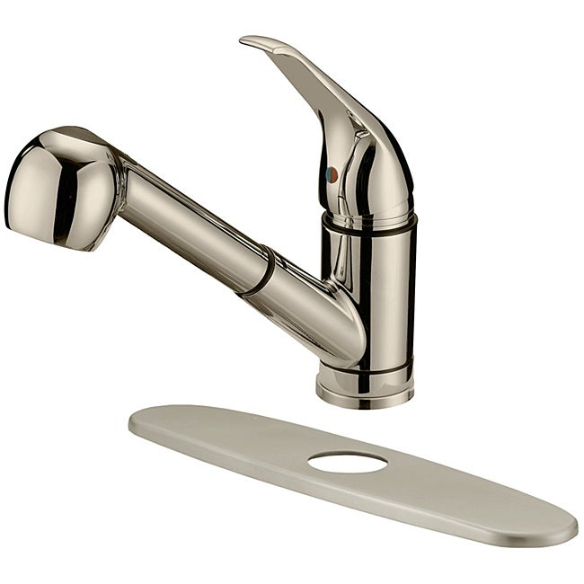 LessCare LK3B Brushed Nickel Finish Kitchen Faucet