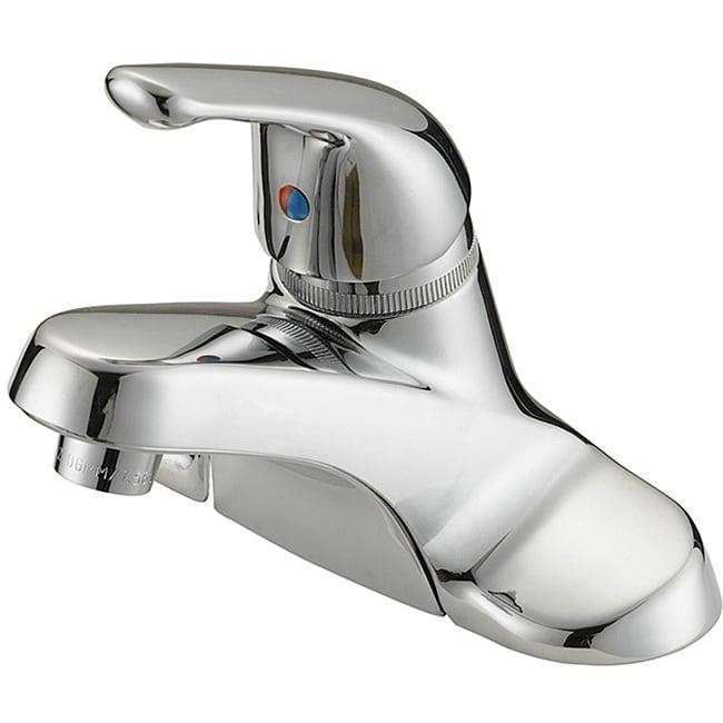 LessCare LB2C Chrome Finish Bathroom Faucet with Pop-up
