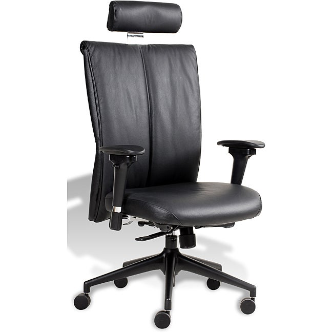 J&K Executive Highback Leather Office Chair