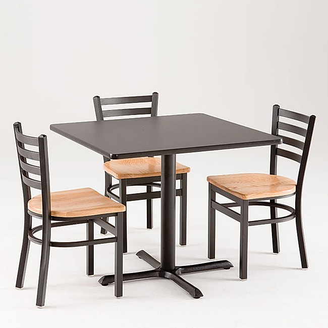 Fine Cambridge 5 Piece Commercial Dining Set Download Free Architecture Designs Rallybritishbridgeorg