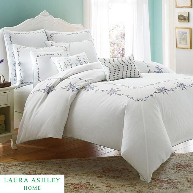 Laura Ashley Alicia 3-piece Full/Queen-size Duvet Cover Set