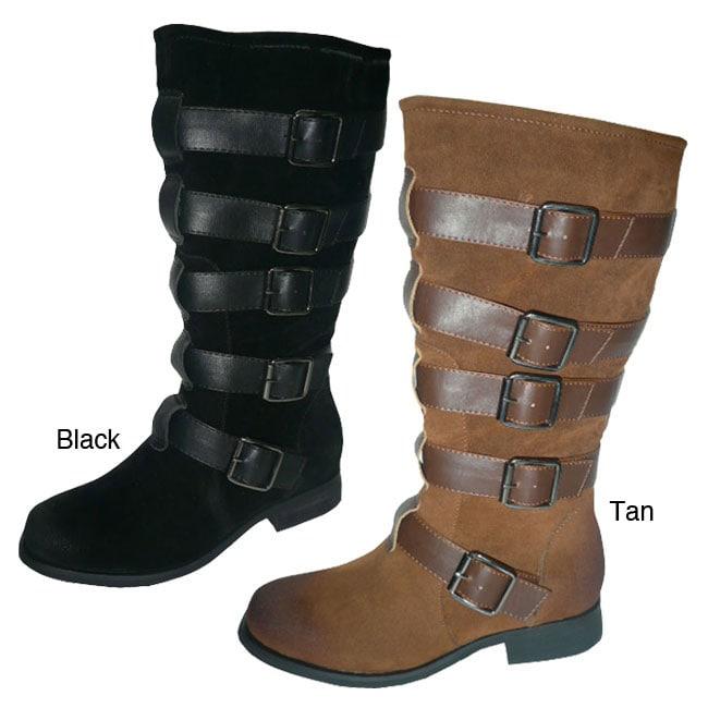 Bucco Women's 'Meg' Mid-calf Boots