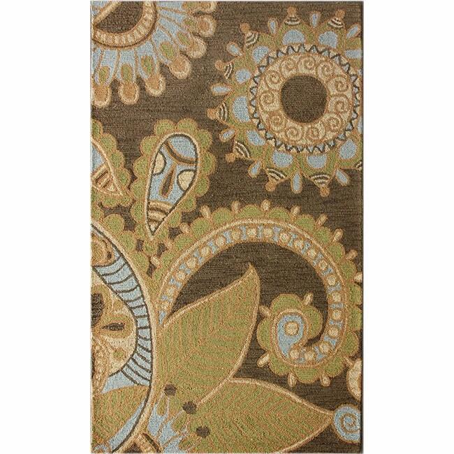 nuLOOM Handmade Santa Clara Wool Rug (5' x 8')