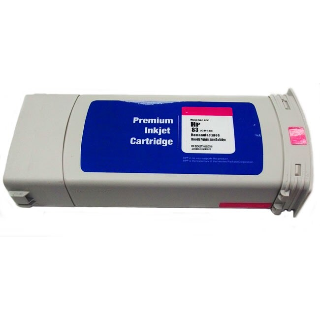 HP 83 Magenta Ink Cartridge (Remanufactured) (Pack of 3)