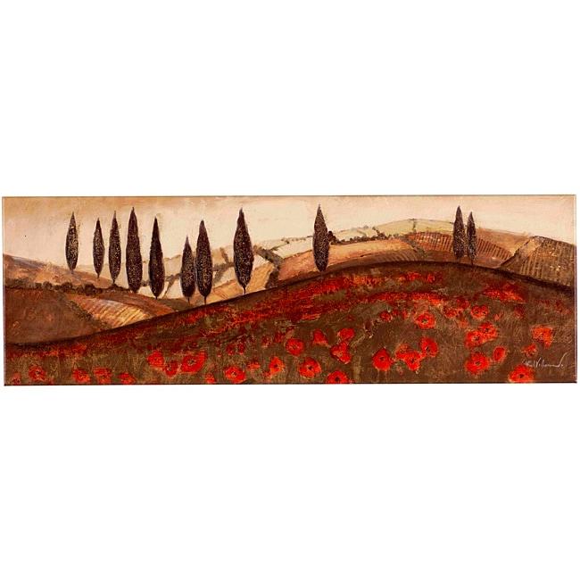 Fabrice de Villeneuve 'Hills of Tuscany' Canvas Art