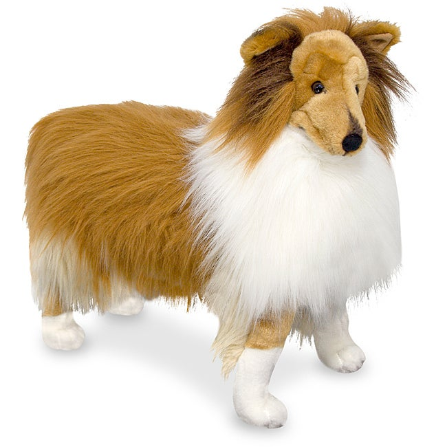 Shop Melissa Doug Plush Shetland Sheepdog Stuffed Animal Free