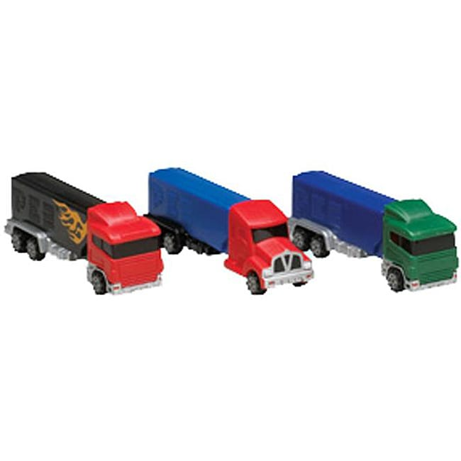 Pez Big Rigs Toy Candy Dispensers (Pack of 12)