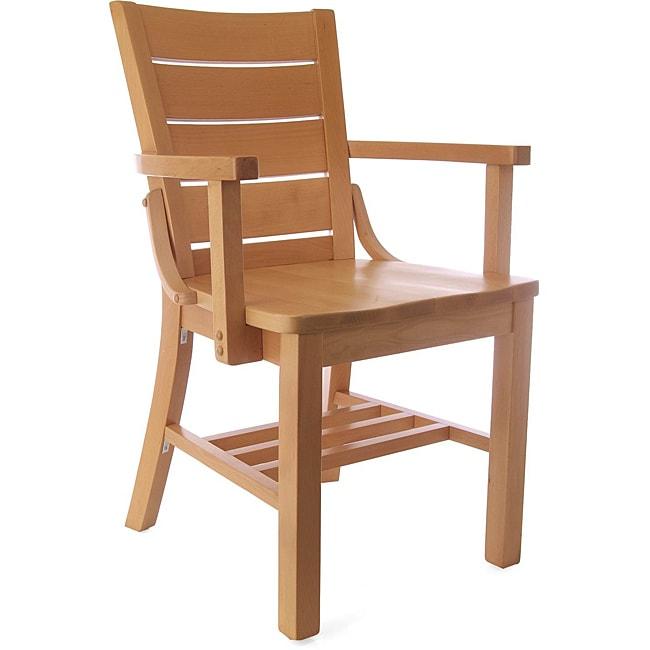 Media Beechwood Arm Chair