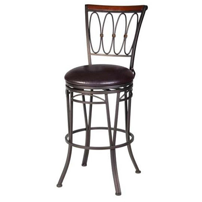 Dynasty 30 Inch Barstool With Full Swivel Free Shipping