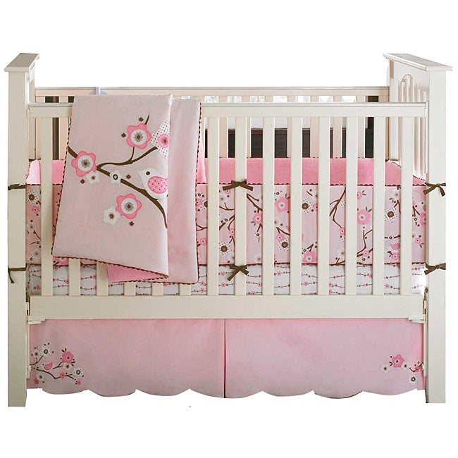 Shop Bananafish Migi Blossom 3 Piece Crib Bedding Set