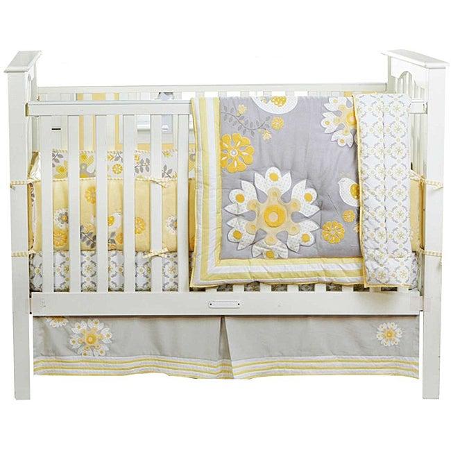 Banana Fish MiGi Sweet Sunshine (Yellow) 3-piece Crib Bed...