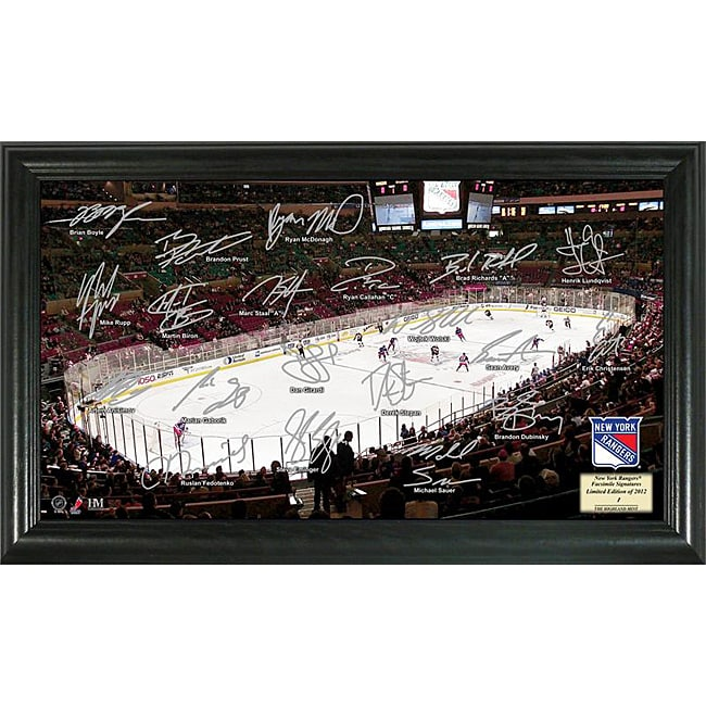 deals york rangers team signed victory photo sigs