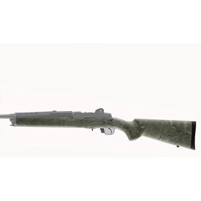 Hogue Ghillie Green Ruger Mini 14/30 Overmold Stock