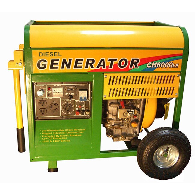 Amico 6000 Watt Diesel Generator with Electric Start