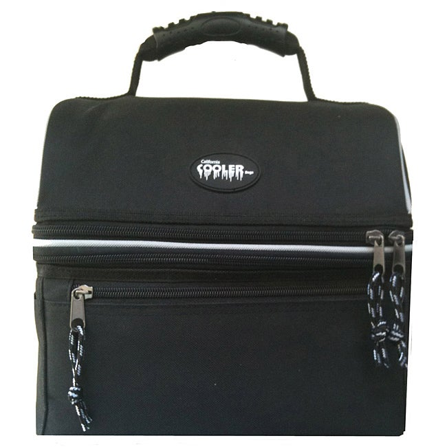 California Cooler Deluxe Black Lunch Cooler Bag - Thumbnail 0